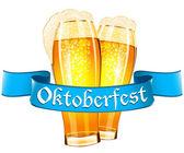 Disegno di celebrazione dell'oktoberfest — Vettoriale Stock