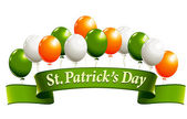St.Patrick's Day banner — Vector de stock