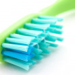 Toothbrush closeup. — Foto Stock