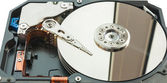 Open hard disk drive. — Stock Photo