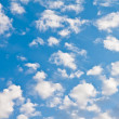 Royalty-Free Stock Photo: Blue sky with clouds.