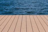 Wooden pier. — Stock Photo