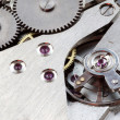 Stock Photo: Clockwork mechanisms.