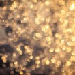 Golden bokeh background. - Stock Photo