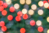 Background with bokeh lights. — Stock Photo