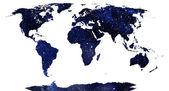 World map. — Stock Photo