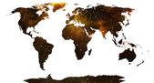 Weltkarte. — Stockfoto