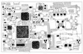 Circuit board. — Stock Photo