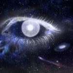 Постер, плакат: Eye and Universe