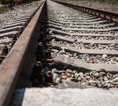 Railroad way. — Stock Photo