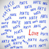 Love and hate. — Stock Photo
