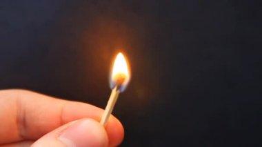 Branden wedstrijd. — Stockvideo