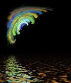 абстрактный рисунок. — Стоковое фото
