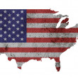 US map. — Stock Photo #27695525