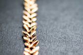Gold chain. Selective focus. — Stock Photo