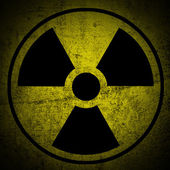 Ionizing radiation hazard. — Stock Photo