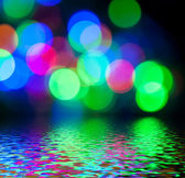 Colorful bokeh. — Stock Photo