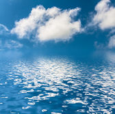 Sky with clouds. — Stock Photo