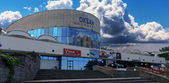 "Cinema and Concert complex ""Ocean"". — Stock Photo"
