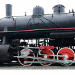 Old steam train. — Stock Photo