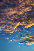 Sunset with clouds. — Stock Photo