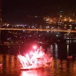 Stock Video: International Fireworks Festival in Vladivostok.