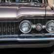 Exhibition of old American classic cars in Vladivostok. — Zdjęcie stockowe
