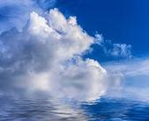 Gökyüzü bulutlu. — Stok fotoğraf