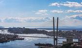 Vladivostok, bridge. — Stock Photo