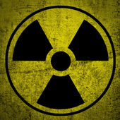 Ionizing radiation. — Stock Photo