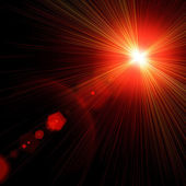 Light flare. — Stock Photo