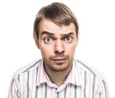 Surprised face. — Stock Photo