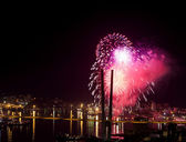 Colorful fireworks. — Stock Photo