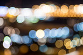 City lights background. — Stock Photo