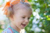 Porträt von happy babymädchen. — Stockfoto