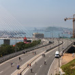 "Flashmob ""I love Vladivostok"". — Stock Photo #38321965"