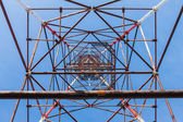 High-voltage tower. — Stock Photo