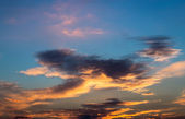 Sunset sky. — Stock Photo