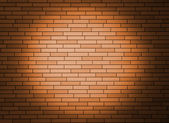 Wall with spotlight. — 图库照片