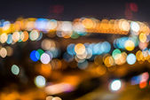 City lights background. — Stockfoto