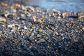 Havet stenar bakgrund. — Stockfoto