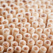 The rear side of toothpicks. — Stock Photo