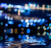 Abstract circular bokeh. — Stock Photo