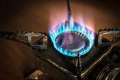 Portable gas burner. — Stock Photo