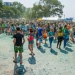 People celebrated Holi Festival of Colors. — Stock Photo #51213477