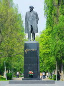 Statue of Lenin — Stock Photo