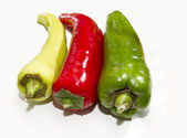 Bullhorn chilli — Stock Photo