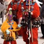 Bulgaria mummers parade — Stock Photo #12218883