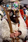 Bulgaria mummers parade — Stock Photo