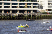 The Head of the River Race, the Thames river, London 2008 — Foto de Stock